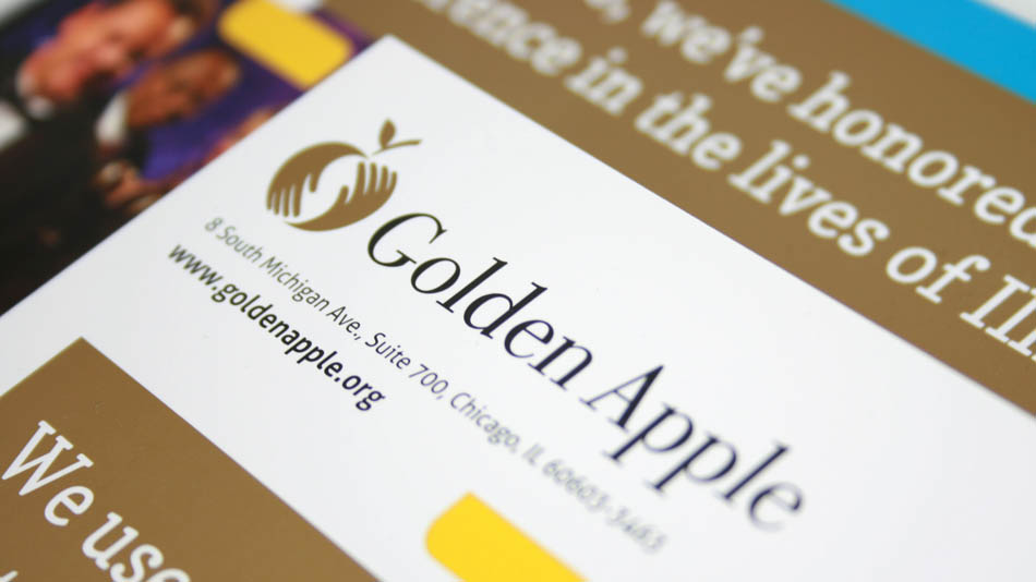 Golden Apple Foundation direct mail | Hexanine