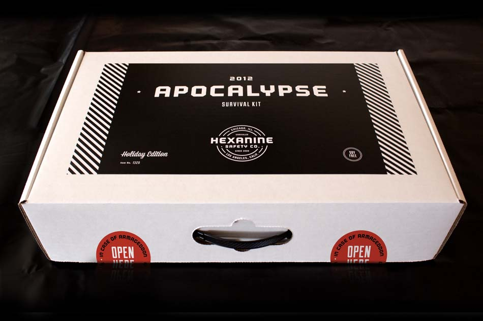 Hexanine 2012 Apocalypse Survival Kit