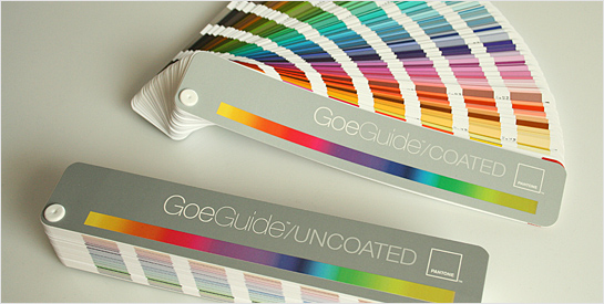 Pantone Goe Swatchbooks
