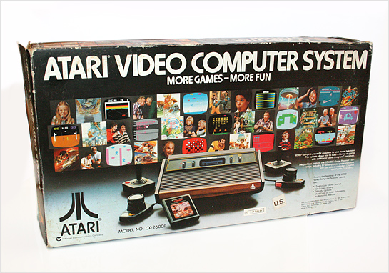 Atari 2600 packaging