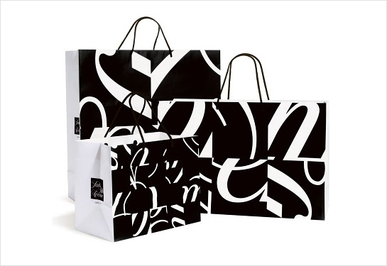 Michael Bierut Designs Saks