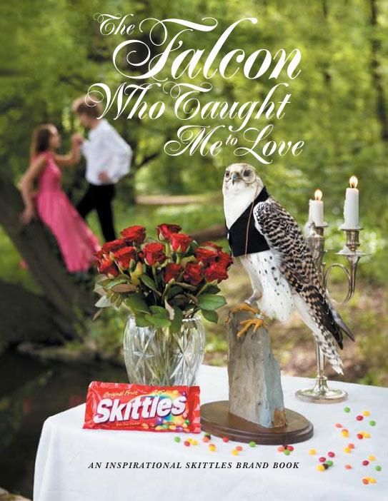 Skittles Brand Book Cover