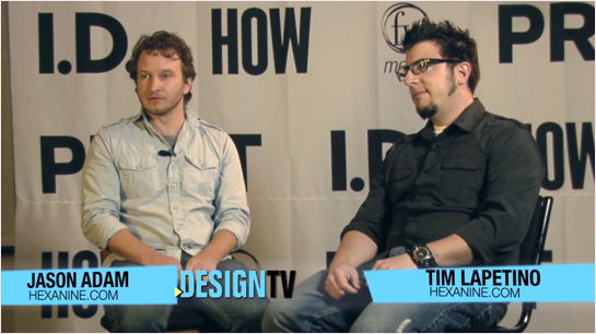 Hexanine HOW Design TV interview