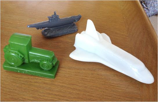 Mold-A-Rama toys