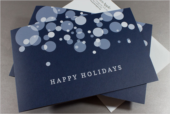 Hexanine: Golden Apple Holiday Card