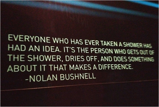 Hexanine: Nolan Bushnell Quote