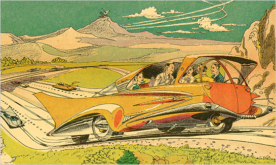 Art Radebaugh Robot Driving