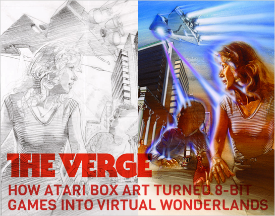 Hexanine: Verge Article Interviews Tim Lapetino for Art of Atari
