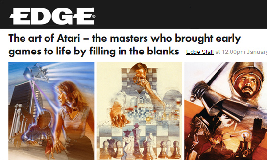 Hexanine: Tim Discusses Art of Atari With Edge Magazine
